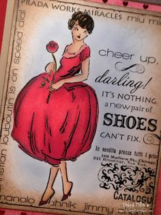 Designed by Deb Miller using Cheer Up, Darling