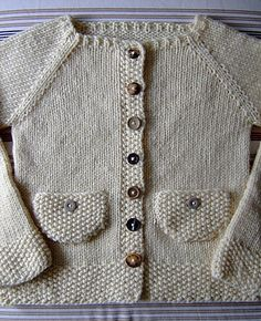 Ravelry: Plain Vanilla with Buttons pattern by Suvi Simola