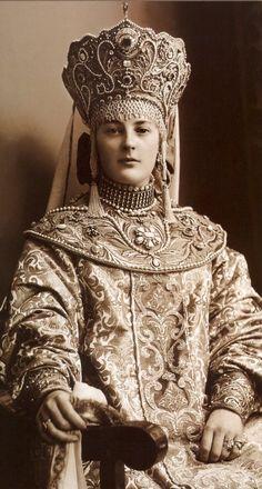 Nadezhda Von Liarliarskaya photo from 1903 Costume Ball book.