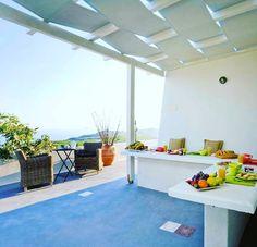 Good #morning from Black Rock Villa!  www.bookingsantorini.com  #santorini #santorinihotels Santorini Hotels, Black Rock, Villa, Instagram Posts, Fork, Villas