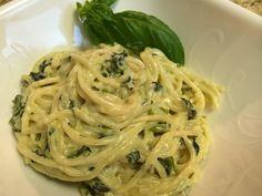 Spinach Artichoke Pasta Recipe (Vegetarian) - Dollar Tree Gourmet!