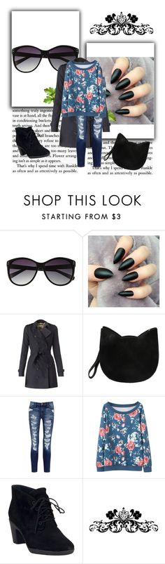 """Roses and Cats"" by mahailee-kemp on Polyvore featuring Vince Camuto, Burberry, Forever 21, Current/Elliott and Clarks"