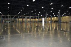 Empty Exhibit Hall