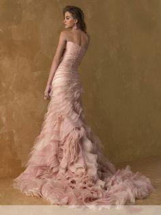 Model Novias « Alta Moda Bridal – a Salt Lake City, Utah Bridal Shop Pink Wedding Gowns, Beautiful Wedding Gowns, Bridal Gowns, Dress Wedding, Pink Gowns, Wedding Bride, Dress Prom, Wedding Ideas, Wedding Blush