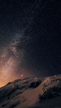 Download wallpaper: http://goo.gl/0zswcA ad02-wallpaper-apple-ios8-iphone6-plus-official-darker-starry-night via freeios8.com - iPhone, iPad, iOS8, Parallax wallpapers