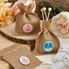 <em>Design Your Own Collection</em> Burlap Treat Bags