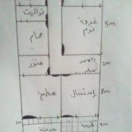 تصاميم منازل صغيرة 120م House Floor Design, Iron Gate Design, Architectural House Plans, Model House Plan, House Map, Family House Plans, Free Pdf Books, Villas, Architecture Design