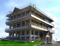 Tsunami Escape Building - Punya Indonesia