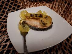 Rondele de somon la cuptor | La Vera In Bucatarie Panna Cotta, Ethnic Recipes, Dulce De Leche