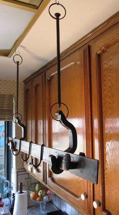 Railroadware - Pot & Pan Rack (Suspended)
