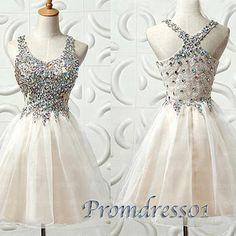 promdress01: Sparkly short prom dress