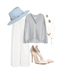 """""""Резкие черты лица"""" by juliazima ❤ liked on Polyvore featuring Joseph, MANGO, Maison Michel, EF Collection, Louis Vuitton, Aéropostale and Gianvito Rossi"""