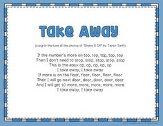Help students remember important math skills using lyrics that can be sung using the tunes of famous pop songs. These 12 short songs use mainly the choruses of each song and teach important strategies about place value, addition, subtraction, telling time, rounding numbers, and long division.