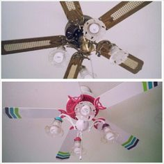 diy ceiling fan makeover - Google Search