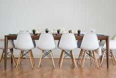 La Tavola Fine Linen Rental: Aurora Blush and White Table Runners ...