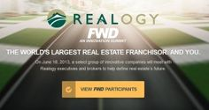 Realogy picks 15 companies as finalists for innovation summit  Emerging real estate tech companies competing for $25,000 prize