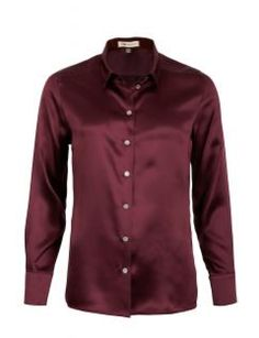 Blouse #classical-silk-shirt #easy-luxe #elegant #made-in-europe #nadine-h #washable-silk