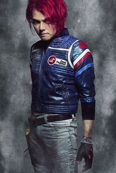 Love the jacket!  Gerard Way