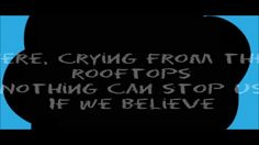 Best Shot -- Birdy & Jaymes Young [The Fault In Our Stars Soundtrack] Lyrics Video