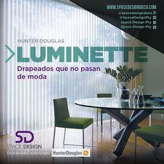 #Luminette te ofrece láminas verticales de tela pegadas en un velo traslúcido que otorgan elegancia y sofisticación. Revisa el catálogo en nuestra tienda! #HunterDouglas #Decoración #SpaceDesign #Design #DiseñoInterior #Casa #Panamá #Cortina #Persiana #Arquitectura  #L4l #Amazing #Like4Like #Home #Hogar #PhotoOfTheDay #PicOfTheDa