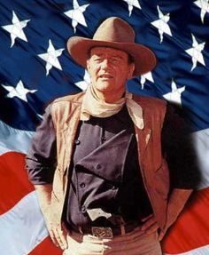 John Wayne, an American hero. Perhaps not what you might expect. But John Wayne taught generations of Americans what it meant to be heroic. Easy Listening, Westerns, Divas, Dalida, American Pride, American Flag, American History, American Legend, American Actors