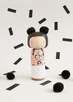 Custom Kokeshi Doll - Sketchinc.bigcartel.com