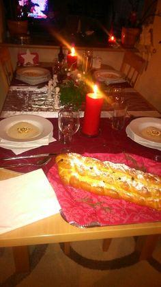 Vánoční stůl.