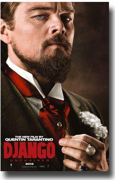 Django Unchained Movie Poster #Django #Tarentino  #JamieFoxx