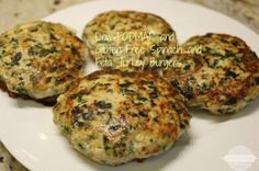 Low-FODMAP and Gluten-Free Spinach and Feta Turkey Burgers