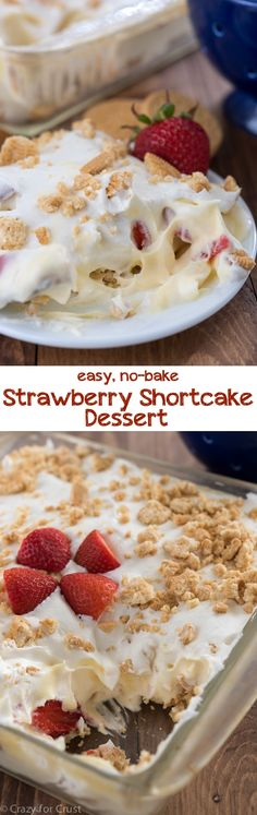Easy No-Bake Strawbe