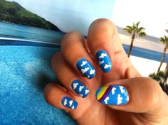 Want Mont to paint my nails like this for the week of VBS!  :)