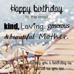 Lovely happy birthday mother pictures
