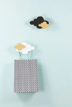 Cloud wall hook set in black, white and wood for your sweet little baby's nursery. Delightful and on trend nursery decor for a heavenly atmosphere.  These hooks are sold as a set and enjoy a 5%...