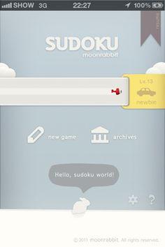 SUDOKU UI