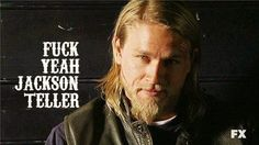 More like fuck me Jackson Teller hahaha.but seriously Jackson Teller, Sons Of Anarchy Motorcycles, Ryan Hurst, Sons Of Anarchy Samcro, Charlie Hunnam Soa, Beyond Beauty, Jax Teller, Christian Grey, Man Alive
