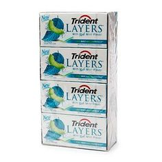 I'm learning all about Trident LAYERS Sugar Free Gum  (12 Packs) at @Influenster!