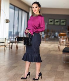 67 Ideas How To Look Pretty Outfits Classy Skirt Outfits, Casual Outfits, Fashion Outfits, Womens Fashion, Tight Dresses, Nice Dresses, Girls Dresses, Executive Woman, Corporate Attire