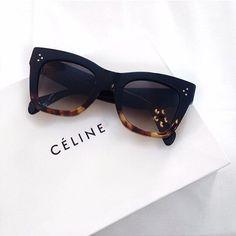 Celine sunglasses. @thecoveteur