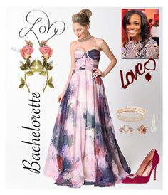 """The Bachelorette"" by scope-stilettos ❤ liked on Polyvore featuring Allurez, Courtside Market, Monica Vinader, River Island, Anne Klein, Badgley Mischka, girly and Bachelorette"