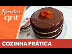 Receita de naked cake | Rita Lobo - YouTube Rita Lobo, Mini Cheesecake, Naked Cake, Ganache, Sweets Cake, Drip Cakes, Coco, Cupcake, Breakfast
