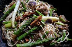 Japchae, Noodles, Spaghetti, Ethnic Recipes, Food, Lasagna, Macaroni, Essen, Meals