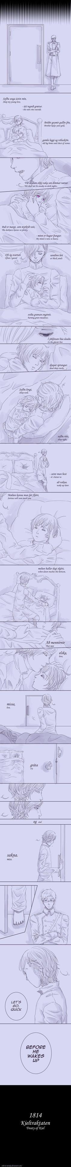 [APH Nordics] Sleep my young love by Enbi-to-Miruku.deviantart.com on @deviantART (i think my heart is dead)