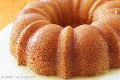 A moist, orange bundt cake that is soaked in an orange glaze. Even if you are a cake-mix hater, you have got to try this cake. I'd bet that it would change your mind! I have made this cake multiple times over the last probably 10 years. Pound Cake Recipes, Cupcake Recipes, Dessert Recipes, Pound Cakes, Dessert Ideas, Cupcakes, Cupcake Cakes, Just Desserts, Delicious Desserts