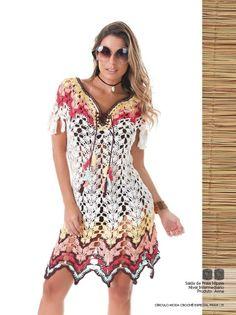 21 Black Crochet Dress, Crochet Skirts, Crochet Blouse, Crochet Clothes, Crochet Lace, Diy Crafts Dress, Crochet Wedding Dresses, Beach Crochet, Crochet Woman