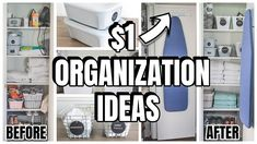 $1 ORGANIZING LINEN CLOSET WITH DOLLAR TREE PRODUCTS - YouTube