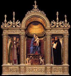 TICMUSart: Frari Triptych - Giovanni Bellini (1488) (I.M.)