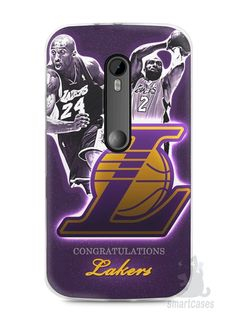 Capa Moto G3 Lakers - SmartCases - Acessórios para celulares e tablets :)