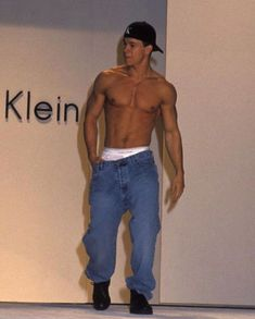 Mark Wahlberg at a Calvin Klein Runway Show in 1993 Mark Wahlberg Daughter, Mark Wahlberg Ted, Mark Wahlberg Daddy's Home, Mark Wahlberg Muscle, Donnie And Mark Wahlberg, Actor Mark Wahlberg, Mark Wahlberg Calvin Klein, The Gambler, Beautiful Boys