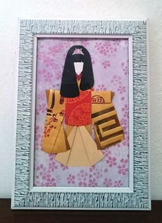 Japanese Origami, Japanese Paper, Japanese Kimono, Cute Bookmarks, Red Packet, Light Crafts, Origami Art, Gifts For Girls, Paper Dolls