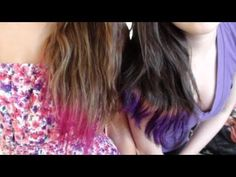 DIP DYED HAUUUUR!